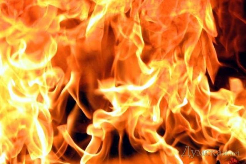 ВОдесской области напожаре обнаружили погибшего человека