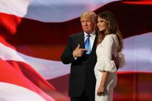 Дональд и Мелания Трамп. Фото: enstarz.com