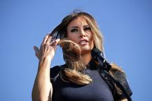 Мелания Трамп. Фото: Chip Somodevilla / Getty Images