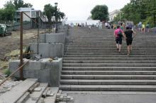 Потемкинская лестница, июнь 2016 г. Фото Вячеслава Тенякова