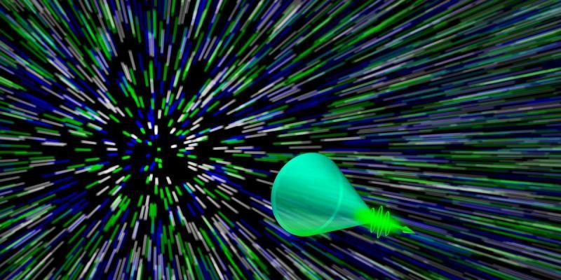 Ученые засняли «ударную волну» света