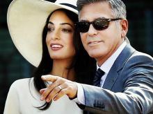 Амаль и Джордж Клуни. Скриншот со страницы в Instagram