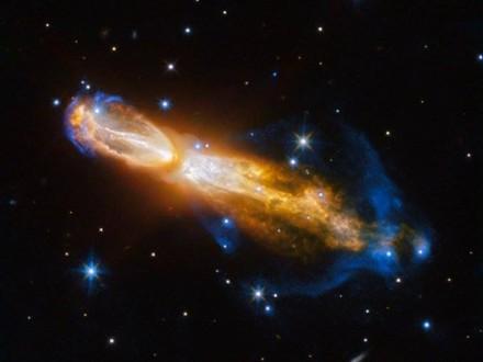 «Хаббл» «увидел» смерть похожей наСолнце звезды