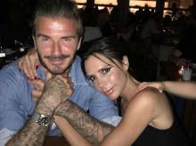 Виктория и Дэвид Бекхэм. Фото с личной страницы в Instagram