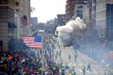 Взрыв в Бостоне. Фото с сайта mrdemocratic.com