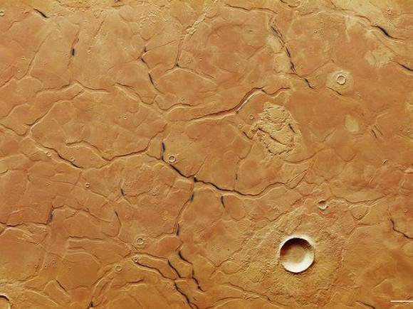 Новые следы космических тел— Опасность наМарсе