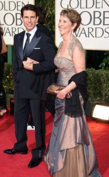 Том Круз с матерью. Фото: eonline.com