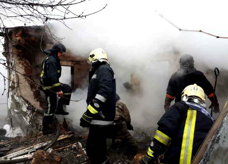 ВОдесской обл. взорвался одноэтажный дом, два человека погибли