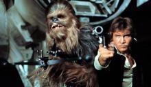Харрисон Форд в роли Хана Соло. Кадр из фильма «Звездные войны»