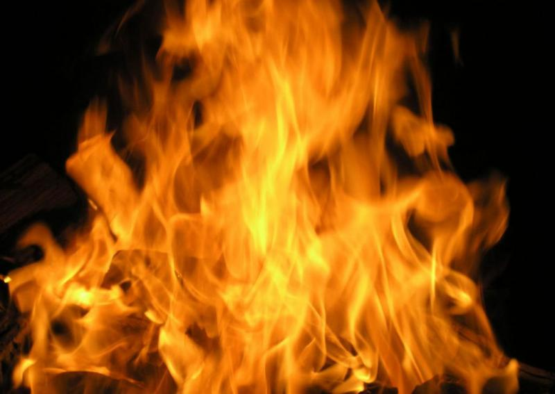ВОдессе напожарище обнаружили погибшего мужчину