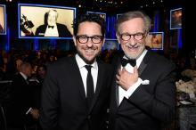 Джей-Джей Абрамс и Стивен Спилберг. Фото: Frazer Harrison / Getty Images