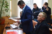 Заседании суда. Выступает представитель истца Вадим Оксюта