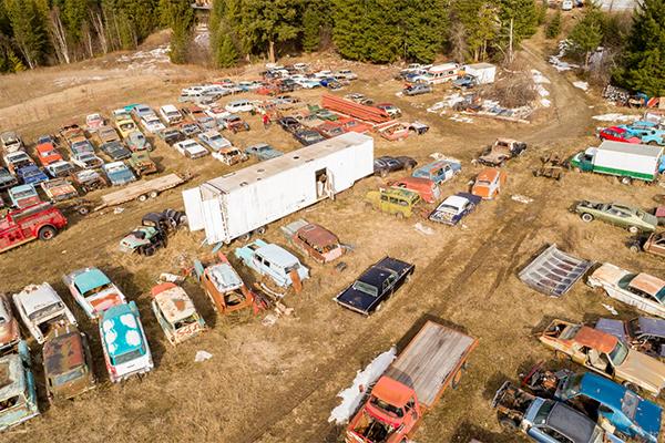 ВКанаде за1 млн долларов можно купить «кладбище» старых машин