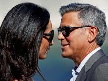Джордж и Амаль Клуни. Фото: ЕРА