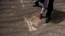 Неизвестный древний город, обнаруженный благодаря песчаной буре. Городская стена. Фото: Mehr