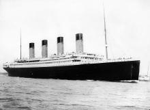 «Титаник» выходит из Саутгемптона в первый и последний рейс 10 апреля 1912 года. Фото: wikimedia.org