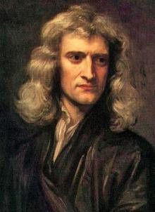 Исаак Ньютон. Изображение: Wikipedia