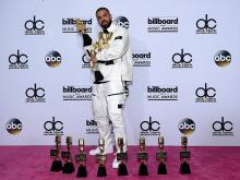 Дрейк на церемонии Billboard Music Awards. Getty Images. Фото: Д.Беккер