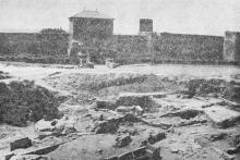 Археологические раскопки. Фотография 1986 г.