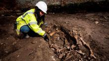 Аохеолог Джейни Грин на раскопках. Фото с сайта Shropshire Star