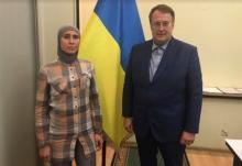 А. Окуева и А. Геращенко