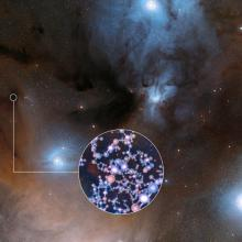 Иллюстрация ESO/Digitized Sky Survey 2/L. Calçada