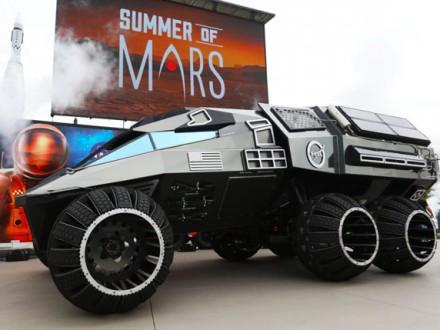 ВNASA представили вседорожный автомобиль для Марса