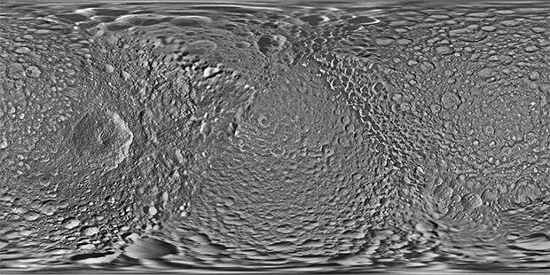 Ученые обновили карту одного изспутников Сатурна