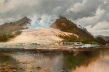 Картина Чарльза Бломфилда. Белые террасы