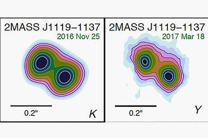 Коричневый карлик превратился вдве планеты— Астрономы