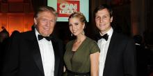 Дональд Трамп, его дочь Иванка и Джаред Кушнер. Фото с сайта kstati.net