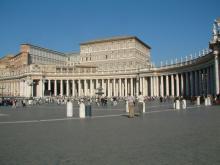 Апостольский дворец в Ватикане. Фото из Википедии