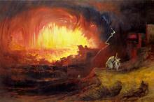 Джон Мартин, «Разрушение Содома и Гоморры»
