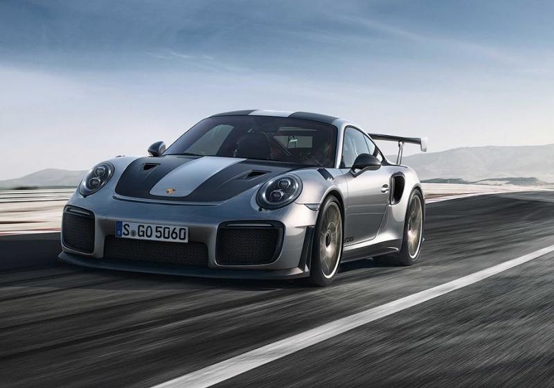 Компания Порш презентовала самый хардкорный 911 GT2 RS