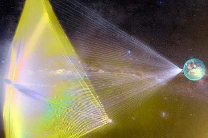 Названа новая опасность для межзвездного нанокорабля