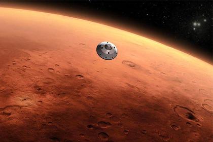 Новый таинственный снимок сМарса получили ученые NASA
