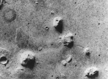 «The Face» — «Лицо»: фотография, сделанная станцией «Викинг-1» в 1976 г.