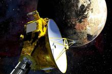 Станция New Horizons у Плутона. Изображение: Johns Hopkins University Applied Physics Laboratory / Southwest Research Institute