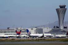 Аэропорт в Сан-Франциско. Фото: Marcio Jose Sanchez / AP
