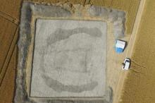 Снимок «Дома мертвых» с дрона. Фото: University of Reading