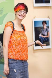 Волонтер Елена Миндра