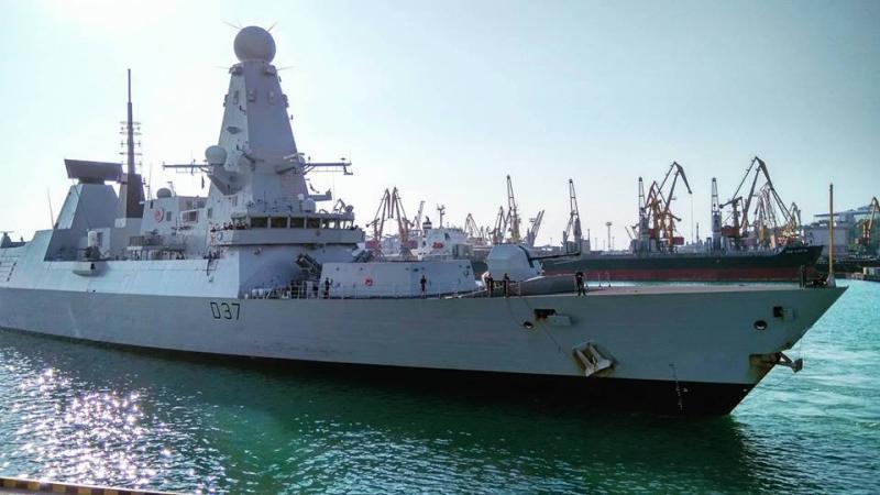 ВОдессу прибыли два эсминца НАТО