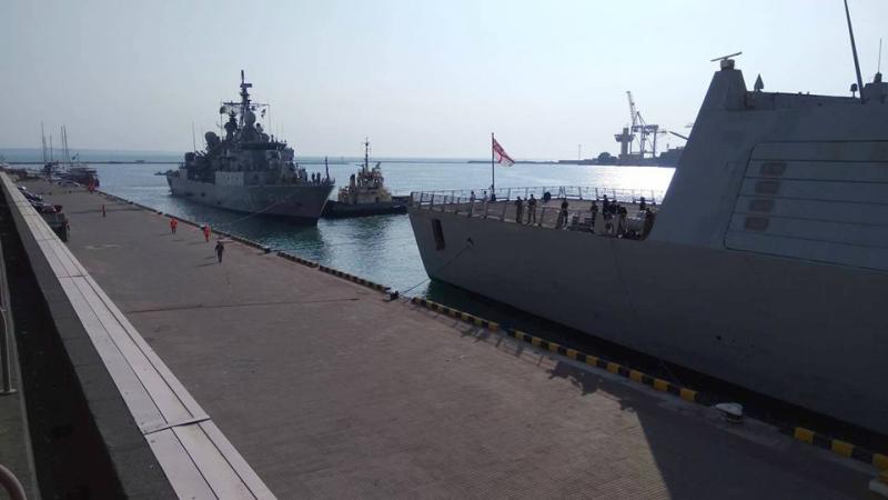 ВОдессу прибыли корабли военно-морской группы НАТО