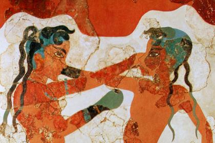 Фреска с острова Санторин