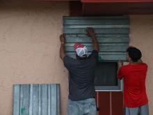 Подготовка к урагану «Ирма». Флорида, 5 сентября 2017 года.  Getty Images. Фото: Дж.Ридл