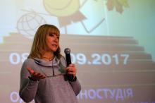 Письменниця,  лауреат Державної премії ім. Лесі Українки Наталя Гузєєва