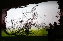 Кадр з українського історико-фантастичного фільму режисера та сценариста Віктора Андрієнка «Козак і мольфар»