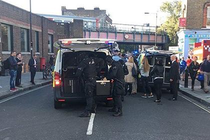 В милиции взрыв влондонском метро назвали терактом