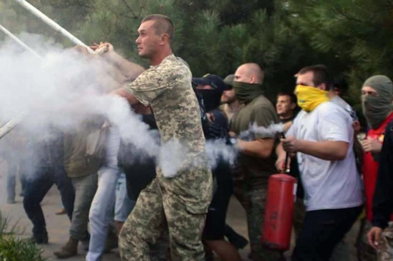 Пофакту столкновений уИльичевского суда открыто уголовное производство