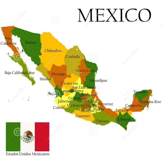 ВМексике случилось землетрясение магнитудой 6,2